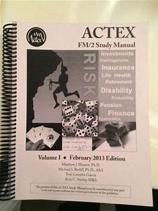 Actex Fm  2 Study Manual  February 2013 Edition