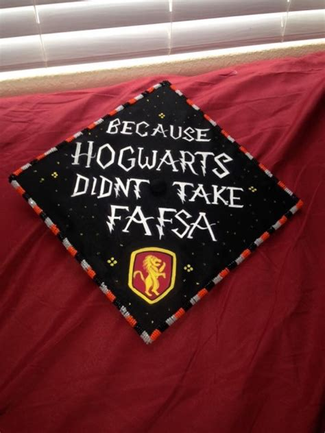 harry potter graduation cap tumblr