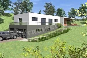 photo maison contemporaine sur terrain en pente plans With prix sous sol maison 0 maisons usinees lofts modulaires et bien plus encore