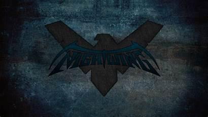 Nightwing Symbol Wallpapers Comics Background Dc Desktop