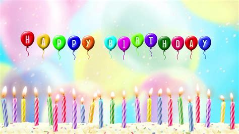 Animated Birthday Wallpaper - happy birthday images animated hd