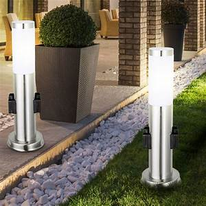 Leuchten Für Den Garten : 2er set stehleuchten f r den au enbereich ~ Sanjose-hotels-ca.com Haus und Dekorationen