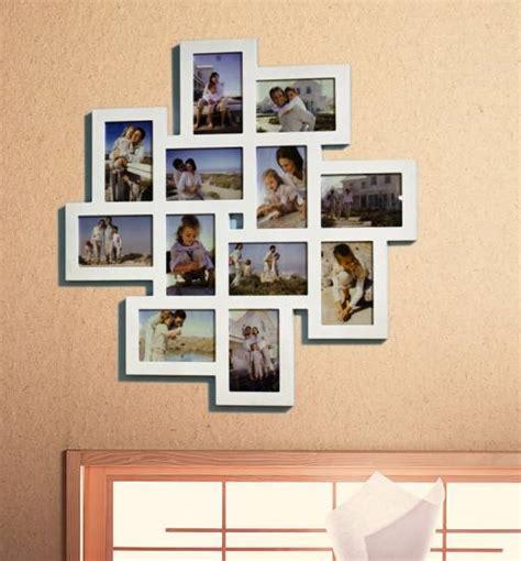 bilderrahmen 12 bilder 1x designer bilderrahmen foto galerie collage holz wei 223 12 bilder 10x15 br9344 ebay