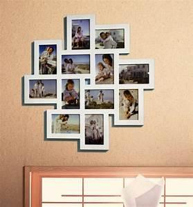 Bilderrahmen Holz Weiß : 1x designer bilderrahmen foto galerie collage holz wei 12 bilder 10x15 br9344 ebay ~ Frokenaadalensverden.com Haus und Dekorationen