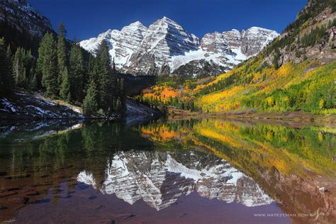 autumn majesty  maroon bells aspen colorado nate