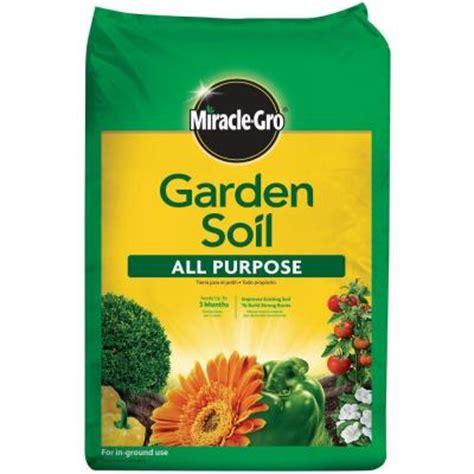 home depot garden soil miracle gro 0 75 cu ft all purpose garden soil 75030430