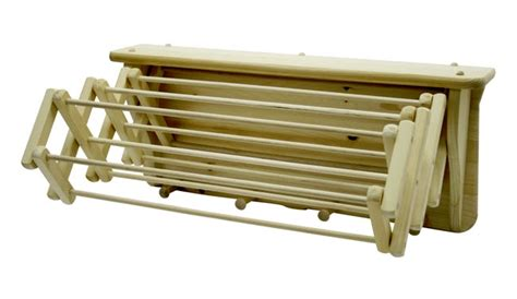 wall mounted clothes drying rack wall mounted wooden expandable clothes drying rack