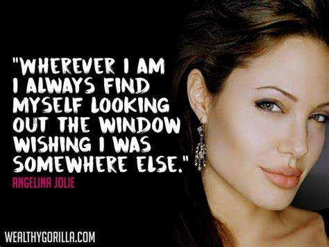 46 Angelina Jolie Quotes On Health Beauty And Youth