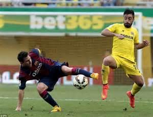 siege sandro villarreal 0 1 barcelona sandro scores his la