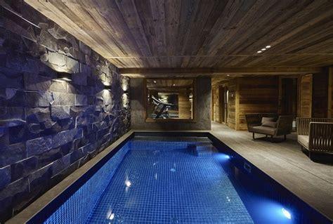 refined chalet design   french ski resort home