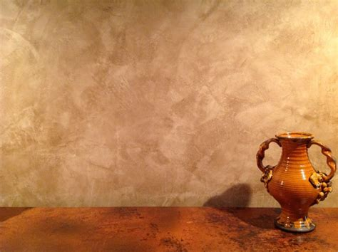 rustic plaster finish foyer faux finish detail of waxed venetian plaster rustic new york by heather bruno sears