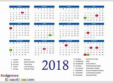 Calendario 2018 2 Imagenes Educativas