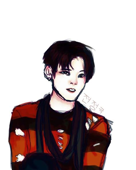 jungkook anime art jungkook war of hormone fan art army s amino