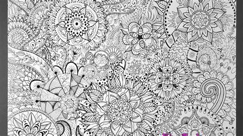 mandala poster jumbo coloring page time lapse video