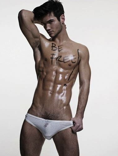 Hunk Of The Day Chris Fawcett Male Model Alan Ilagan