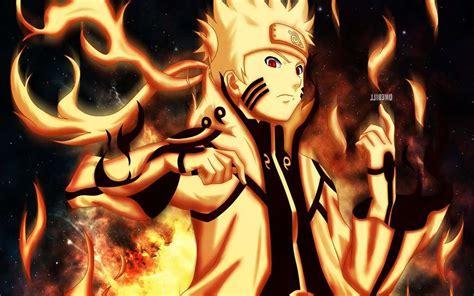 Naruto Shippuden Nine Tailed Fox Mode Wallpaper