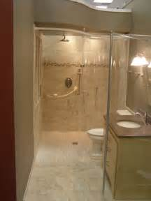 handicapped accessible and universal design showers traditional bathroom cleveland by