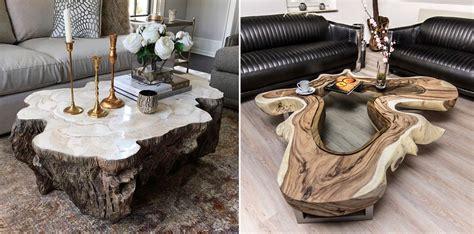 paco escriva muebles mesas de troncos de madera el