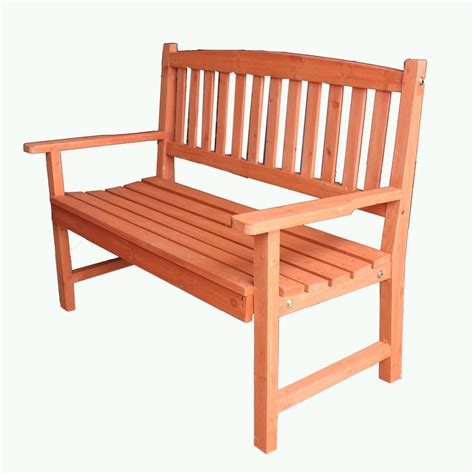 foxhunter wooden garden bench 2 seat seater hardwood