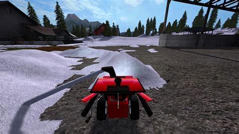 snow blower mtd smart   mod farming simulator