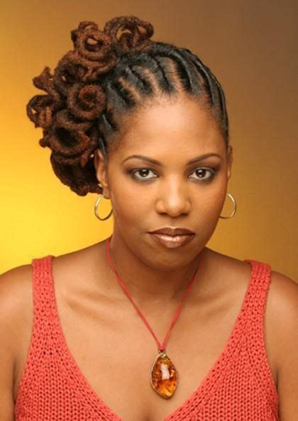 Black Hairstyles With Twists In The Front by Image Detail For Look At How These Locs Are Flat Twists