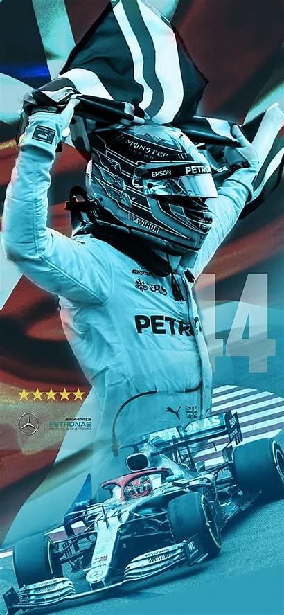 Hamilton Lewis Formula Artwork