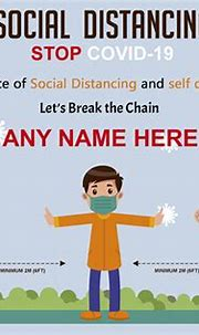 Send Wishes and Messages With Our Social Distancing Cards