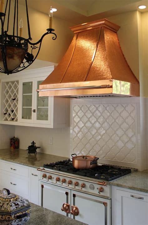 golden quill textured copper sheet copper kitchen hood