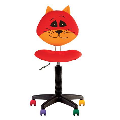 fauteuil de bureau sans roulettes chaise de bureau enfant cat chaise expert 004001cat