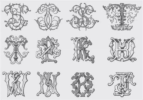 fancy alphabet letters  psd eps format   premium templates