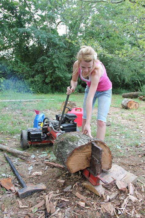 Firewood Cutting Stand by Woodwork Build Wood Splitter Your Own Pdf Plans