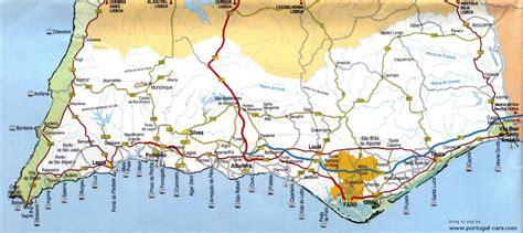 algarve map      algarve driving