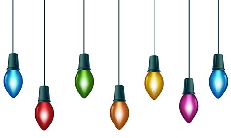 transparent christmas lights c5 lights clipart images inspirationseek cliparting