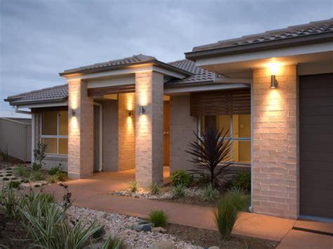 lighting outside house ideas landscape lighting ideas hgtv
