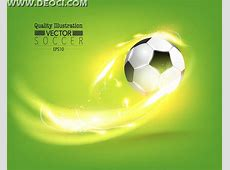 Vector dynamic soccer background design template with