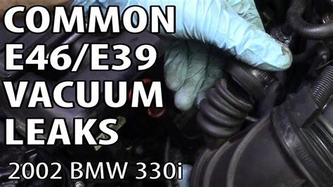 bmw    common vacuum leaks p p youtube