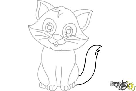 draw  cartoon cat ver  drawingnow