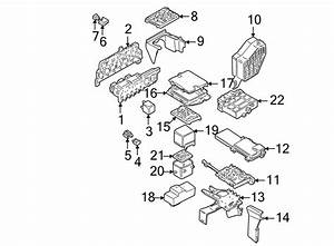 1j0937617d - Fuse Box  Electrical  Telematics  Lighting  Group  Components