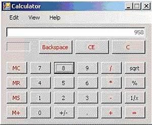 Just like windows calculator