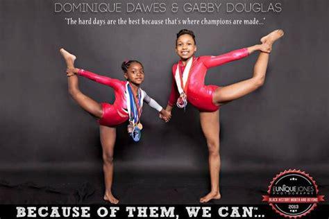 dominique dawes gabby douglas botwc