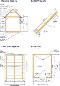 shetomy storage shed plans 8 x 12