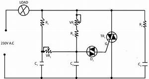 Electronic Light Dimmer Circuit  U2013 Electronic Circuits