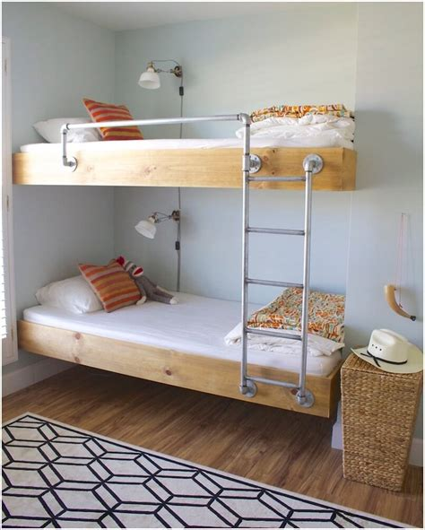 fabriquer des lits superposes lit enfant original 224 fabriquer soi m 234 me et id 233 es de customisation g 233 niales