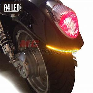 50cm Integrated Turn Tail Signal A4 Led Light For
