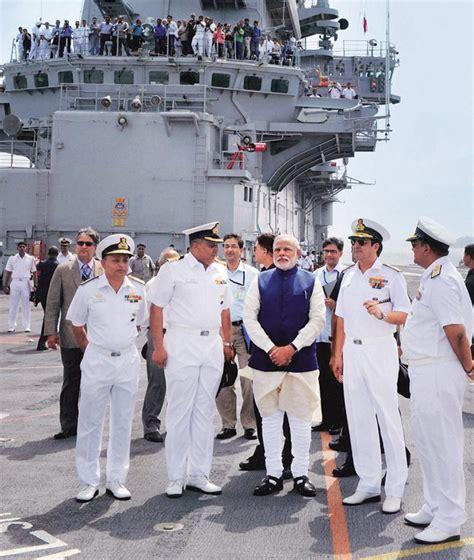 Narendra Modi Adds Vikram To Indian Navy