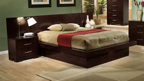 california king platform bed modern 4 pc platform bed bedroom fairfax va