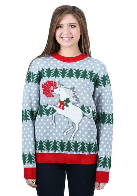 igly sweater unicorn rudolph sweater