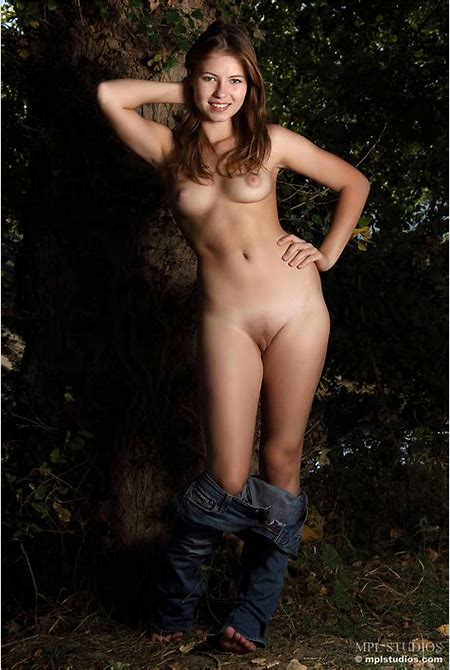 Jenna | Naked in the Forest - MPL Studios free gallery.