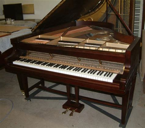 restoration portfolio of rosewood bechstein b grand piano