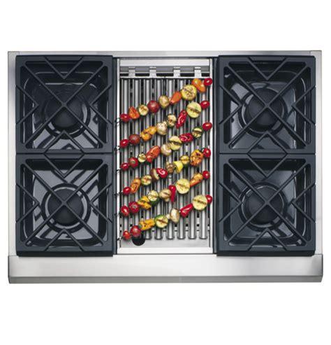 zgunrhss ge monogram  professional gas cooktop